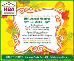 Annual Meeting Nov 13